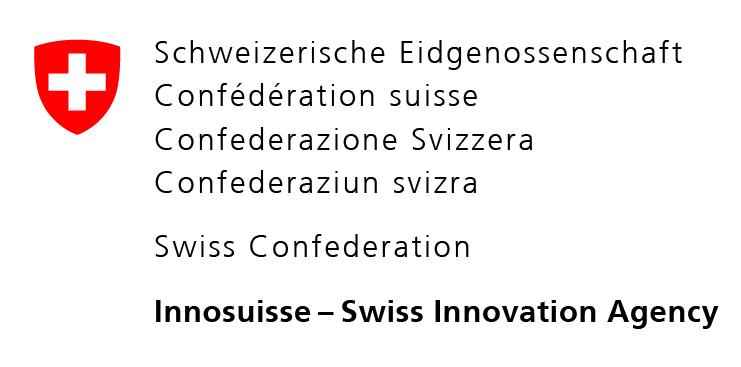 Logo from Innosuisse - Swiss Innovation Agency